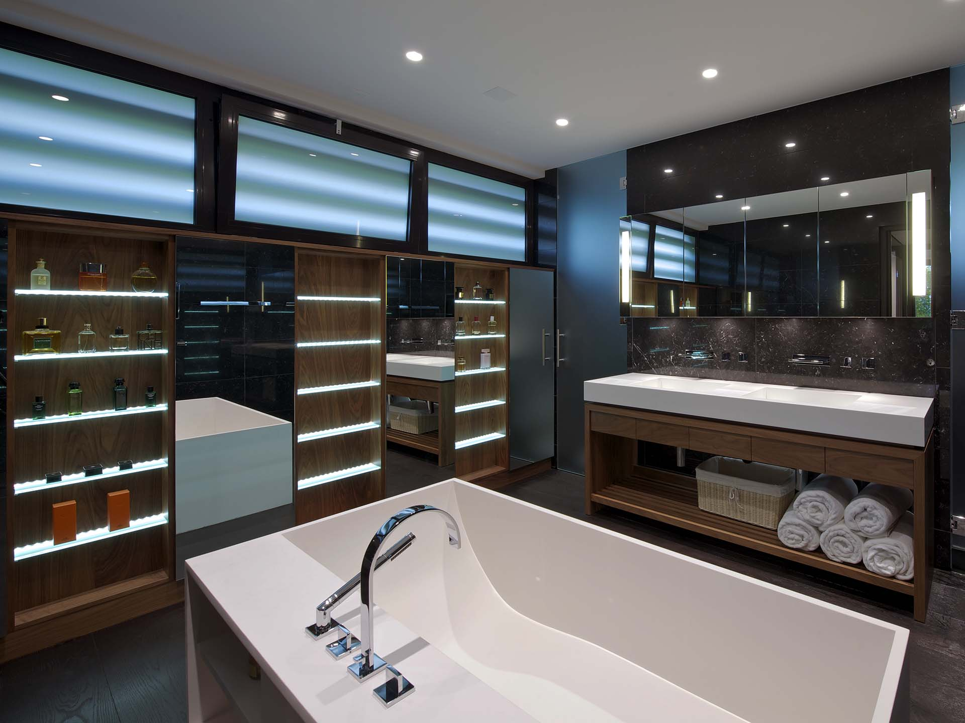 Luxury Contemporary Bathroom Designers London, Uk